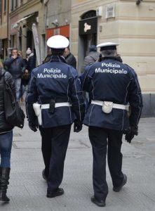 02/04/2015 Rapallo vigili urbani polizia locale